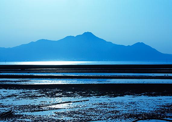 九州最大の湾「有明海」